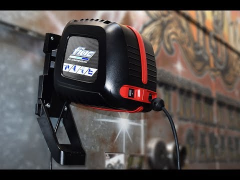 Wallair: ready to go! NEW! Wall mounted air compressor with integrated hose reel