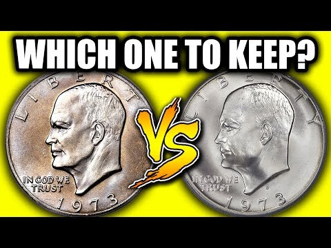 TYPES OF EISENHOWER DOLLAR COINS THAT ARE WORTH MONEY!!  1973 IKE DOLLAR VALUES
