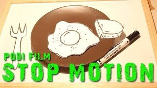 Stop Motion 2013 [HD] PODI Style : Breakfast