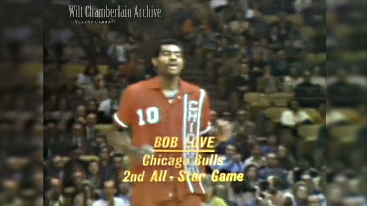 Bob Love 8pts 6reb 1972 NBA ASG Highlights