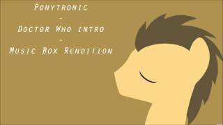 [Music] Doctor Who Intro - Music Box Rendition (Pre 100+ Subs Special)