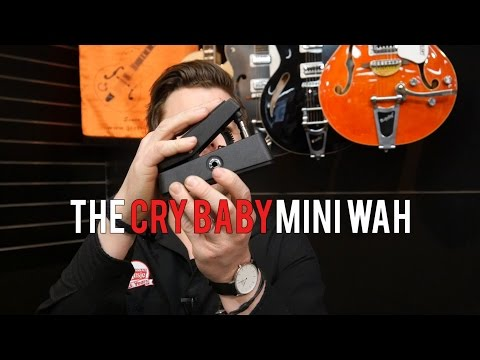 Dunlop Mini Cry Baby Wah