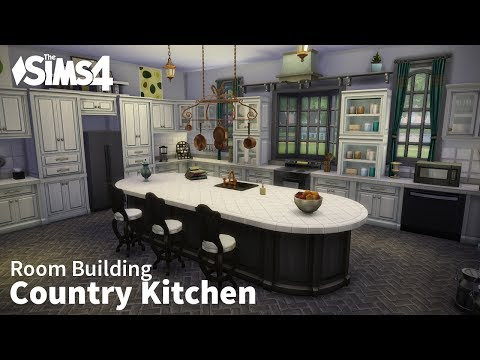 Country Kitchen | The Sims 4 Room Building