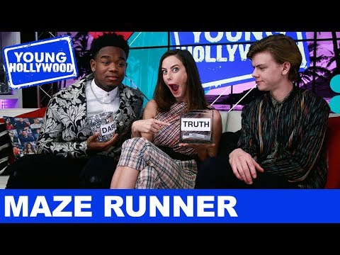 Maze Runner Stars: Truth or Dare!