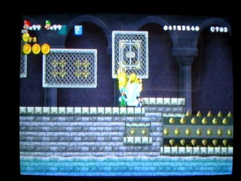 New Super Mario Bros Wii Münzen Trickcheat Part 2 Youtube