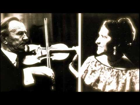 Willi Boskovsky and Lili Kraus play the 1st Movement of Mozart's Violin Sonata in G, K.379