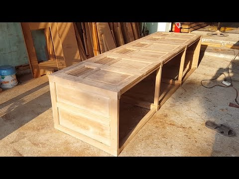Woodworking tips - Wood carving Asian Style - How to Make DIY Kitchen Cabinets