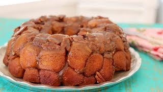 Secret Monkey Bread with Pecans & Caramel - Gemma