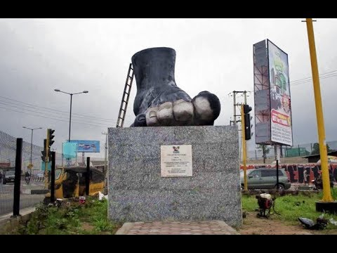Amazing New Statues in Lagos!