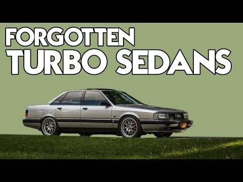 8 Almost Forgotten Turbo Sedans We Really Like