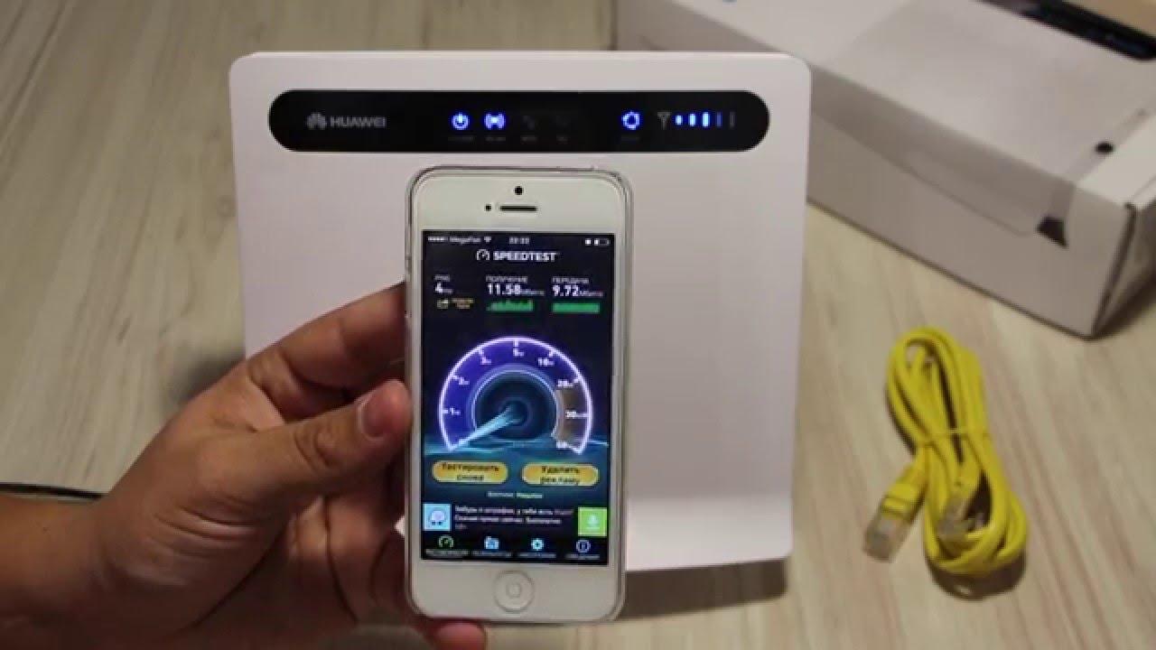 Интернет- центр Yota Huawei B593 - YouTube