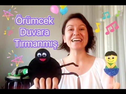ÖRÜMCEK DUVARA TIRMANMIŞ Çocuk Şarkısı