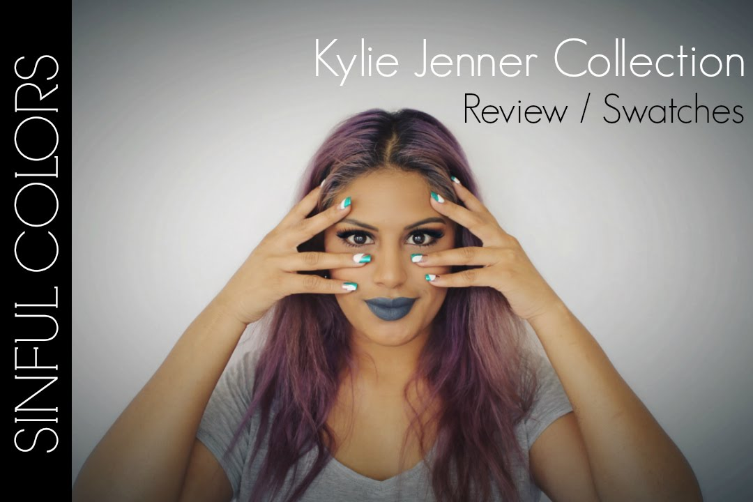 Kylie Jenner Nail Polish Collection | Review + Swatches - YouTube