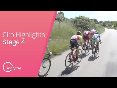 Giro d'Italia 2018 | Stage 4 Highlights | inCycle