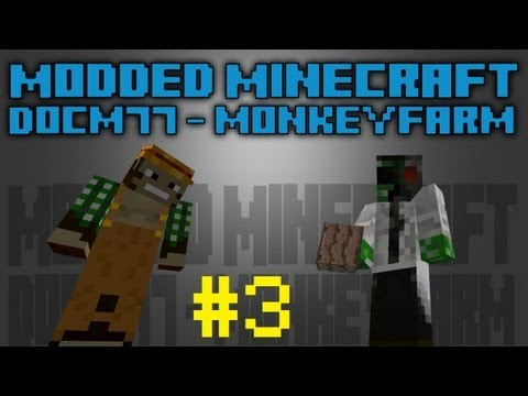 Modded Minecraft - #3 - Power Drilling