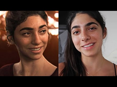 The Last Of Us 2 Face Models And Voice Actors Behind All The Characters
