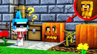 EL ESCONDITE LEGENDARIO DE HALLOWEEN 😂🎃 ¡DENTRO DE UNA CALABAZA!  | EL ESCONDITE #23