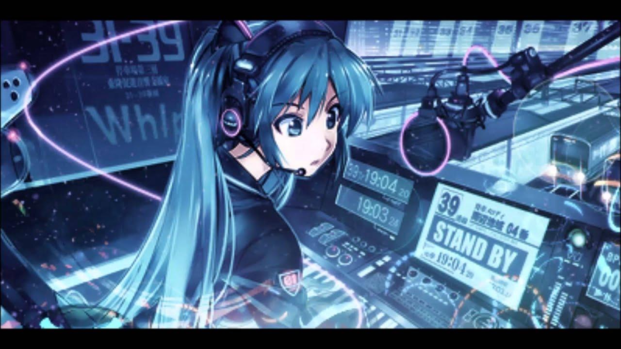 Anime Girls Headphones And Radio 1920x1080 Wallpaper Anime Dubstep 2014 Youtube