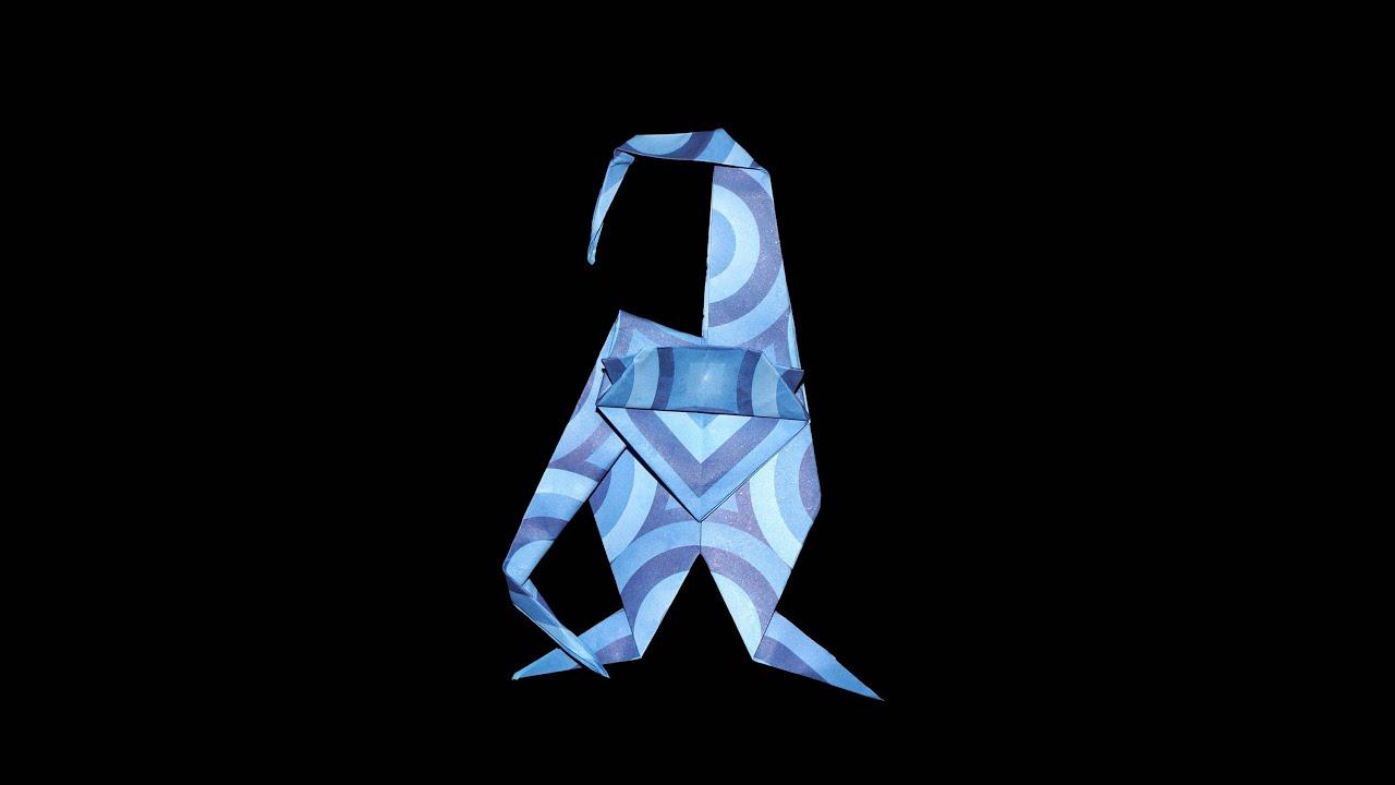 origami affe ape faltanleitung hd de live erkl rt youtube. Black Bedroom Furniture Sets. Home Design Ideas