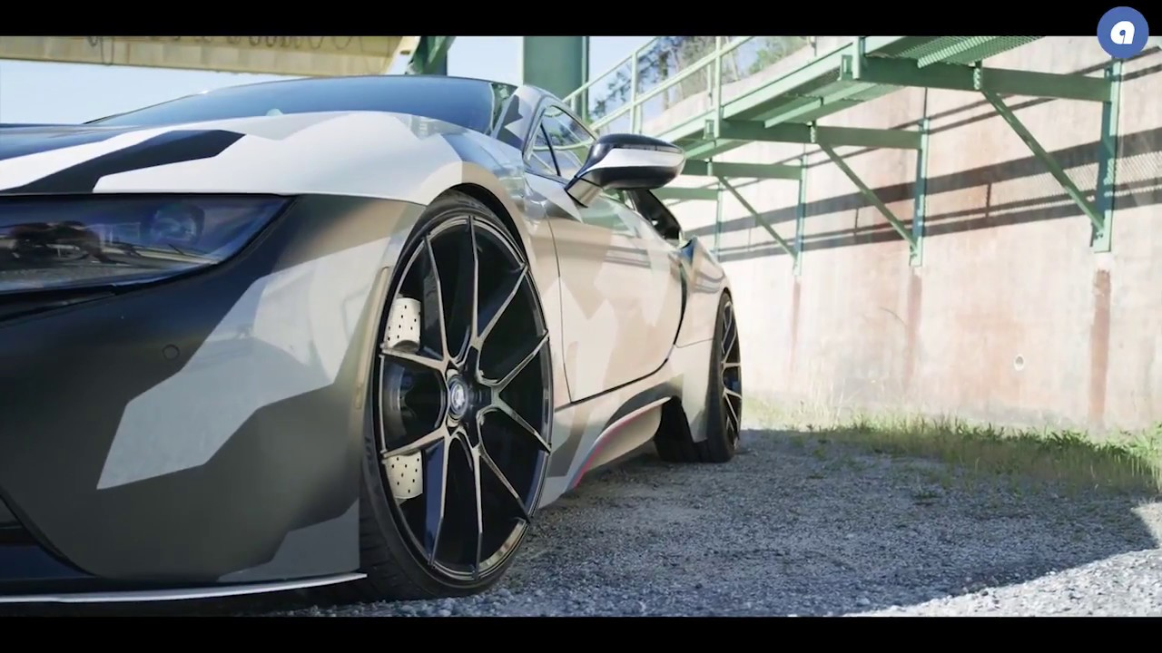 Audiocityusa Bmw I8 Black Di Forza Bm14 Savini Wheels Youtube