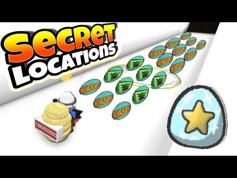 ALL *NEW* SECRET TICKET LOCATIONS + DIAMOND EGG & MORE!! (Roblox Bee Swarm Simulator)