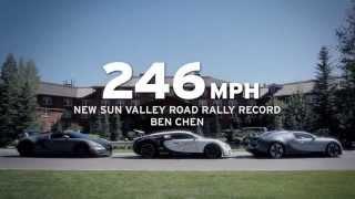 Bugatti at the Sun Valley Road Rally 2014