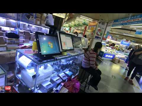 Huaqiangbei electronics wholesale market in shenzhen china