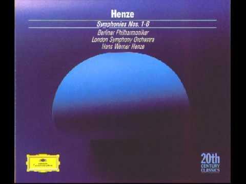 Hans Werner Henze Symphony No. 5 for Large Orchestra (1962)