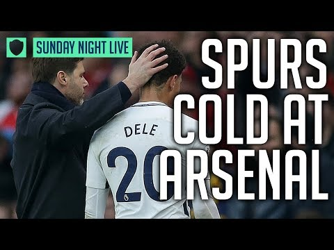 ARSENAL 2-0 SPURS | MAN UNITED 4-1 NEWCASTLE | SUNDAY NIGHT LIVE REVIEW