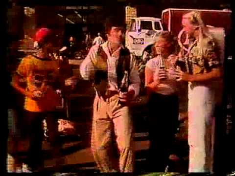 David Naughton & Charlie Rich 1979 Dr. Pepper Commercial