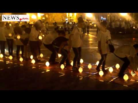 Flashmob in Yerevan, Republic Square