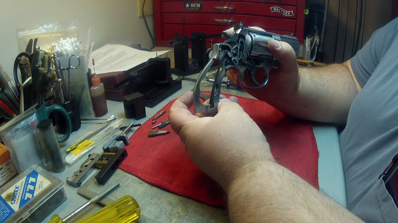 Smith Wesson 686 Level 2 Trigger And Action Job Part 1 The Brake Down