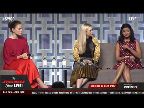 Download Youtube: Daisy Ridley speaking on the Heroines of Star Wars at Celebration (2017)