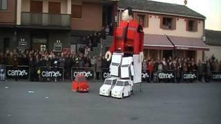 Carnaval Caparroso 2012: De transformer a Playmobil. Peña Zuhaitza
