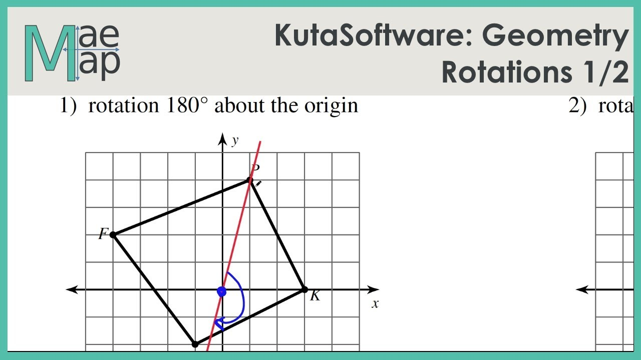 Kuta Software Infinite Geometry Rotations Answers