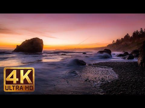 Ruby Beach. Summertime, Olympic Peninsula, 4K Relax Nature Scenery - Trailer - 34