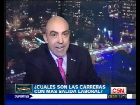 C5N - EL INVERSOR - CUALES SON LAS CARRERAS CON MAYOR SALIDA LABORAL