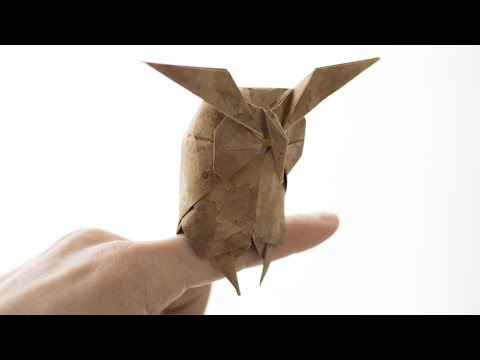 Origami Owl tutorial. How to make paper Owl