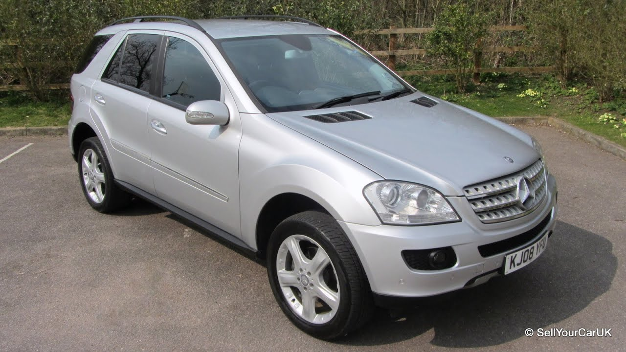 sold 2008 mercedes ml 320 cdi 7 g tronic automatic. Black Bedroom Furniture Sets. Home Design Ideas