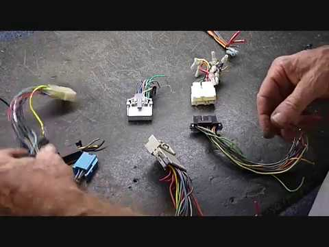 GM Delco Wire Harnesses and Antenna Adapters - YouTube
