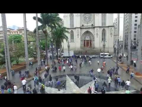 Gravação do Pânico registra tiroteio na praça da Sé