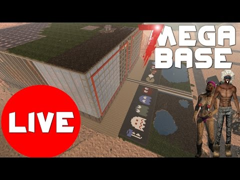 🔴 7 days to die mega base Previous stream May 18 2017
