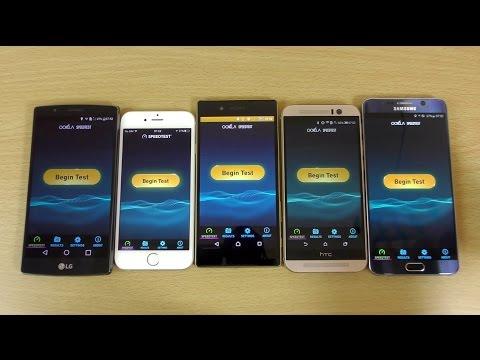 Internet Speed Test - Sony Xperia Z5 VS...