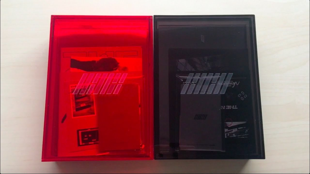 ♡Unboxing iKON 아이콘 1st Album Repackage The New Kids 더 뉴 키즈 (Red & Black  Ver )♡
