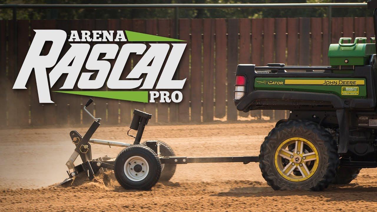Arena Rascal Pro - ATV Horse Arena Drags - YouTube