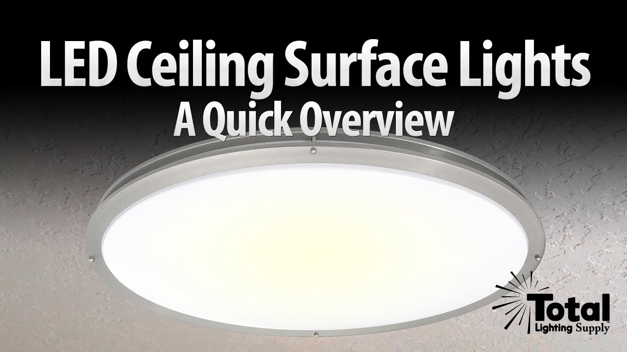 LED Ceiling Surface Light Overview LED JR005 By Total Recessed Lighting. Total  Lighting Supply