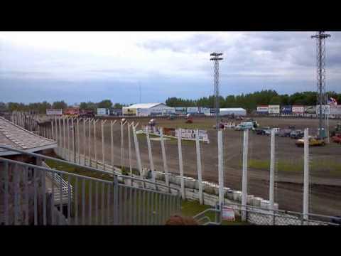 NOSA Sprint heat race 3 River Cities Speedway 6-1-12