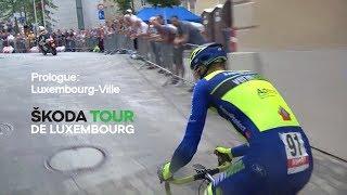 UCI SKODA Tour de LUXEMBOURG Prologue full broadcast ( HD ) 2018©