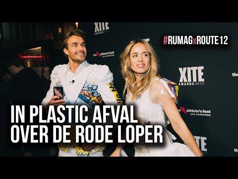 In PLASTIC AFVAL OUTFIT de RODE LOPER CRASHEN?! | met Nienke Plas & Boris Lange ★ Route 12