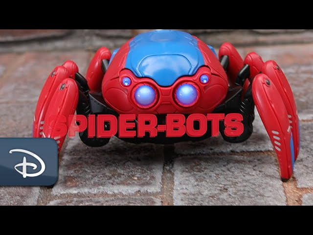 Get Your Very Own Spider-Bot From Avengers Campus | Disneyland Resort